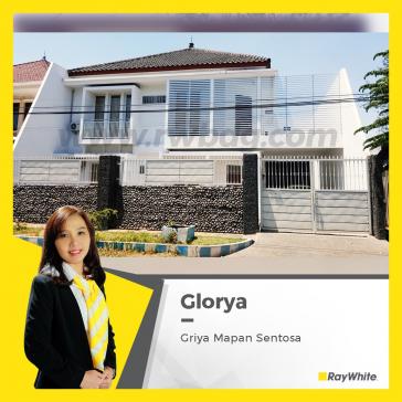 Rumah & Gudang 2 Lantai, Investasi terbaik di Waru Griya Mapan Sentosa
