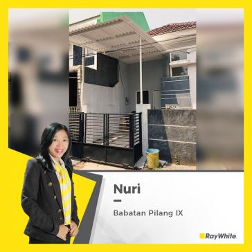 Rumah Minimalis Terawat Dijual di Babatan Pilang, Wiyung