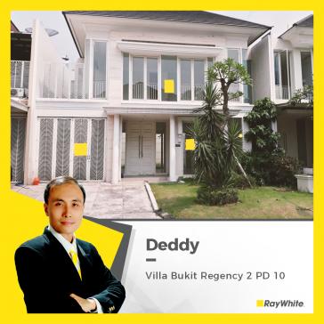 Rumah Mewah Minimalis Dijual di Villa Bukit Regency 2 PD 10
