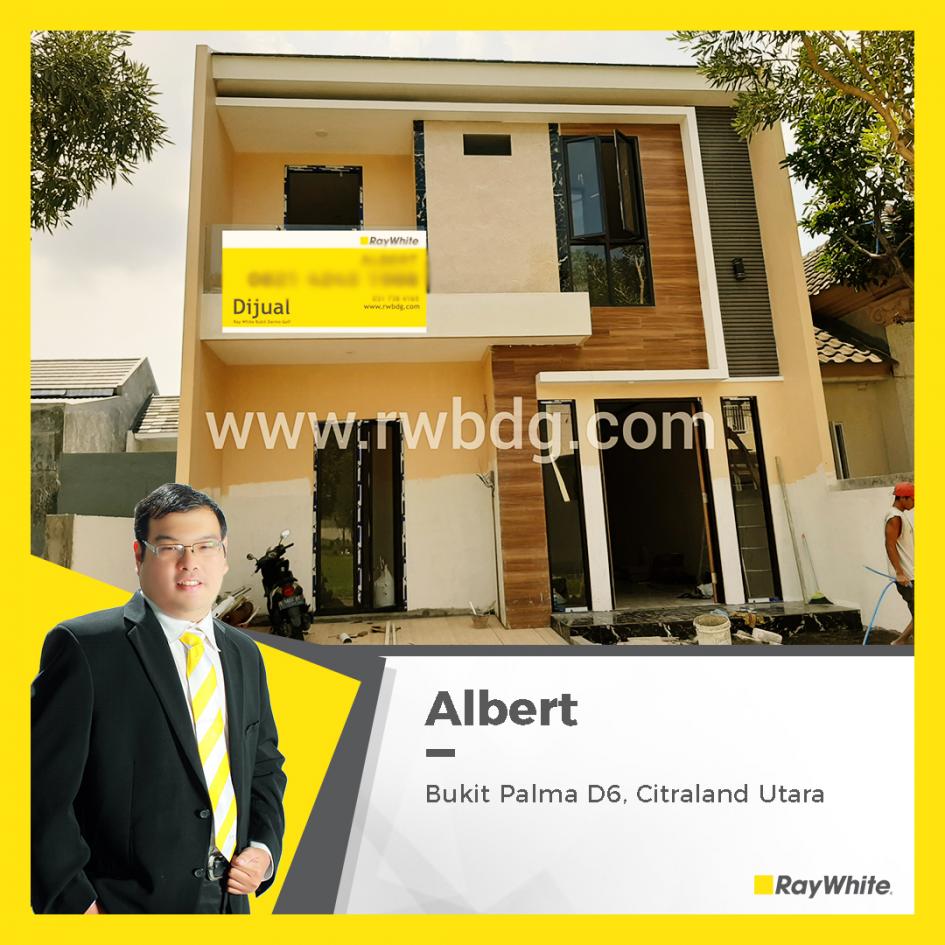 Dijual Brand New House Bukit Palma, Citraland Utara