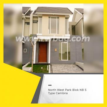 Rumah Nyaman & Asri dalam lingkungkan NorthWest Park Citraland selangkah ke JLLB