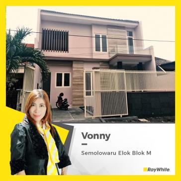 Rumah Minimalis, mewah di Semolowaru Elok Surabaya Timur